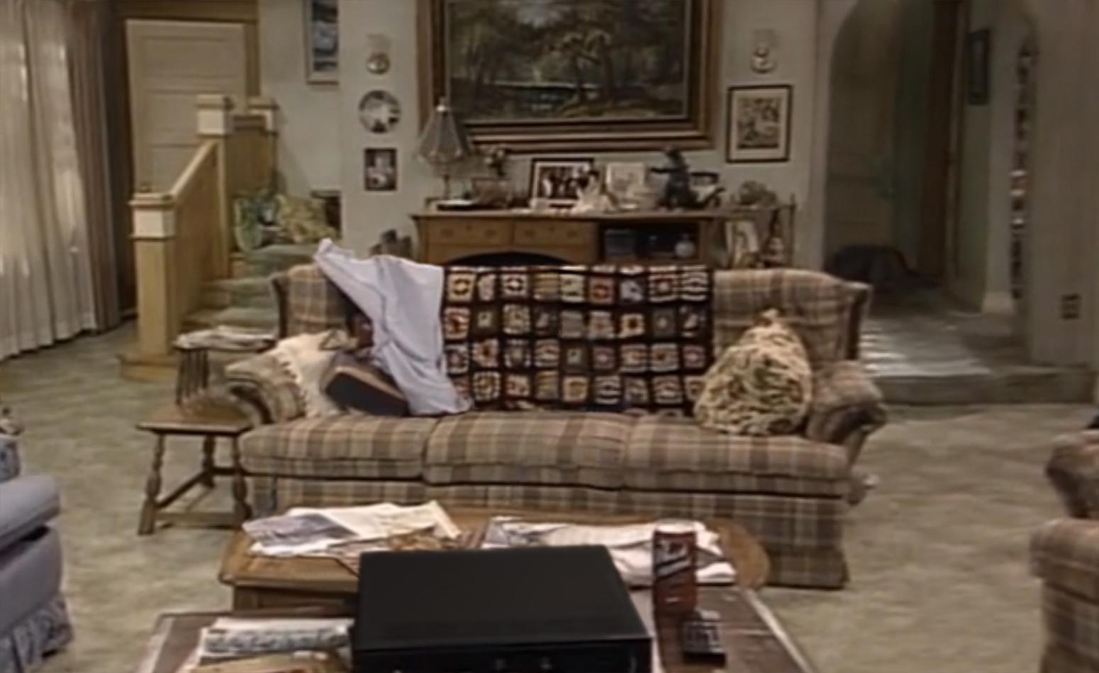 90s Sitcom Living Rooms